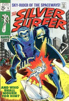 "ogswampthing: ""Silver Surfer #05 Volume 1 from 1968 """