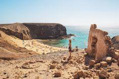 Chiara Magi - Traveling in Lanzarote - Playa Papagayo beach Canary Islands, Sicily, Grand Canyon, Traveling, Beach, Nature, Lanzarote, Viajes, Naturaleza