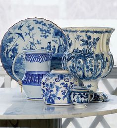 blue and white -love!