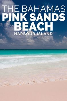 Jul 2017 - The jewel in the crown of Harbour Island the Bahamas; the stunning Pink Sands Beach and New England style architecture of Dunmore Town. Bahamas Honeymoon, Bahamas Beach, Bahamas Vacation, Beach Trip, Bahamas Cruise, Harbour Island Bahamas, Eleuthera Bahamas, Best Vacations, Vacation Trips