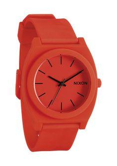 Nixon - The Time Teller P in Neon Orange $75
