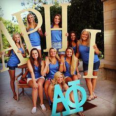 Alpha Phi at University of Utah Sister Pictures, Sister Pics, Sigma Kappa, Alpha Phi Letters, 2 Letter, Dream School, University Of Arizona, Bid Day, Greek Life