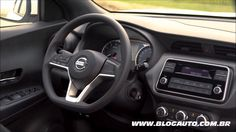 Conheça o interior da versão de entrada do Nissan Kicks S 2018 Manual - ...
