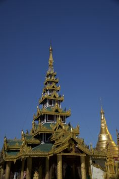 Roof Of A Temple In Traditional Myanmar Art https://madipix.com/roof-of-a-temple-in-traditional-myanmar-art/