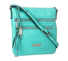 Calvin Klein Key Item Leather Crossbody | Everything Turquoise