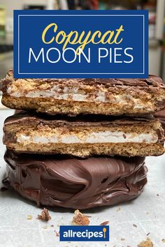 """Copycat Moon Pies 