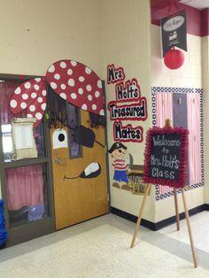 Pirate door decoration