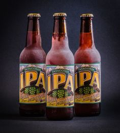 Take a trip to the Patagonia mountains in South America with a refreshing  IPA.