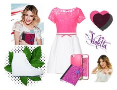 """Violetta"" by violetta-leonetta ❤ liked on Polyvore featuring art"