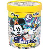 Premium Birthday Party Ice Cream by Blue Bunny Creamy white