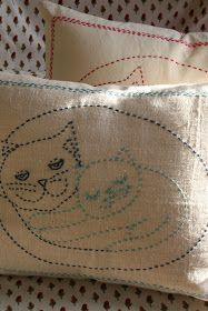 Here are some of my  works ...all about cats :)                                                                                            A...