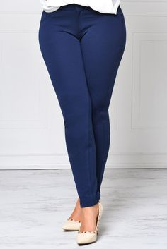 5e7c9292b19 Hang In There Navy Pants – Fashion Effect Store