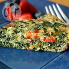 Easy spinach and Gruyere quiche @ allrecipes.co.uk