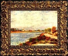 Pierre-Auguste Renoir Seine in Argenteuil Museum Quality Printed Art & Frame $8.99