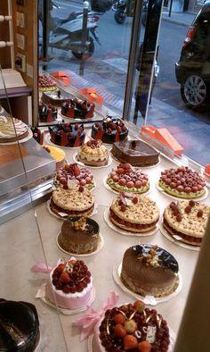 La pâtisserie de Gerard Mulot en pleno corazón de Saint Germain des Prés es uno de los lugares más dulces de Paris.