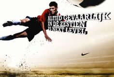 Nike football Next Level campaign by Bas Oosterwal, via Behance