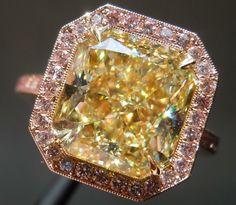 Light Yellow Diamonds | Loose Diamonds | Radiant Cut Diamonds    O.M.G!