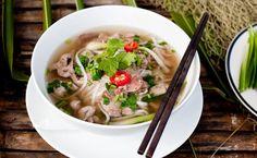 Rosół wietnamski z wołowiną