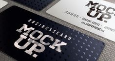 Psd Business Card Mockup Vol6 | Psd Mock Up Templates | Pixeden