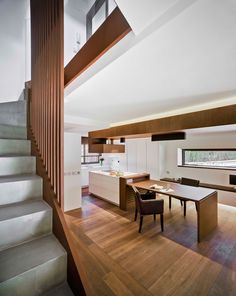 Casa Leutscher is a single-family house recently renovated by Spanish studio OX Arquitectura. Our client wanted a warm, cozy home . Interior Neoclásico, Interior Design, Cozy House, Conference Room, Warm, Dining Rooms, Table, Furniture, Home Decor