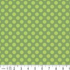 Green summer dot