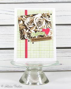 Together, Color Challenge Card no. Concord And 9th, Greeting Cards Handmade, Wonderful Places, Cas, I Card, Cardmaking, Stampin Up, Challenges, Paper Crafts