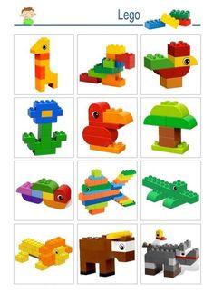 LEGO - basic constructions - Elizabeth W. Lego Basic, Minecraft Lego, Skins Minecraft, Lego Club, Lego Design, Lego Therapy, Lego Challenge, Lego Craft, Lego For Kids