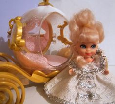 Liddle Kiddle Cinderiddle...The Liddle Kiddles were my first obsession-collection. This must be where the sparkle attraction began!!! I was lucky enough to have all of them!!!
