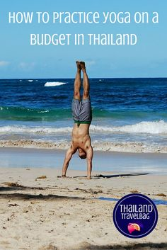 how to practice yoga on a budget in thailand Playa la entrada PI