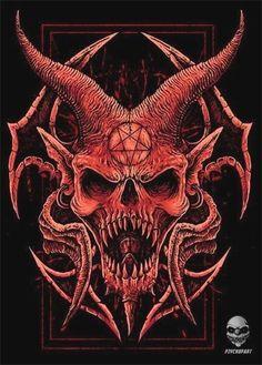 Arte Horror, Horror Art, Diy Poster, Imagenes Dark, Art Sketches, Art Drawings, Bauch Tattoos, Death Art, Satanic Art