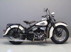 Harley Davidson 1940 WLA 750 cc 2 cyl sv