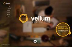 Vellum WordPress Theme