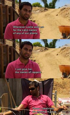 My favorite Parks and Recreation moment...
