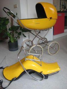 kinderwagen design eames space age jaren 60