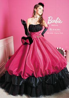 ドレス Barbie BRIDAL - 中国地方・下関の結婚式場 マリアージュ下関 Belle Wedding Dresses, Prom Dresses Long Pink, Gown Wedding, Barbie Gowns, Barbie Dress, Beautiful Costumes, Beautiful Gowns, Elegant Dresses, Nice Dresses