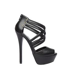 FORRGO Black women's dress high platform - Steve Madden