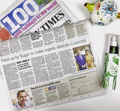 Today at Tropic we're seeking refuge from the dreary January drizzle to read our amazing founder, Susan Ma's story in The Sunday Times. Turn to the 'How I Made It in Business' columns (page 9 of the Business section) to have a read for yourself  www.lynnepreece.com