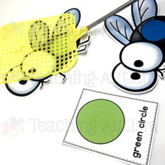 This 2D shape fly swatting game is a great way for your students to work on their 2D shape recognition skills. This game will provide your students with a different way of learning their shapes, keeping their motivated and engaged in their learning. You will need to purchase/have a fly swatter to play this game. This resource comes in two different difficulty levels where students can either swat the fly with the matching shape image on the flashcard..