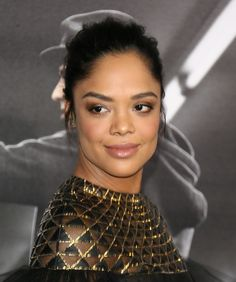 In an EXCLUSIVE interview with the star of 'Creed,' Tessa Thompson, the actress talks Michael B. Jordan sex scenes and Netflix & chill.