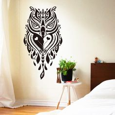 Creative Owl Wall Sticker Removable pvc House Decor In Five Colors – Animal Planet Jewelry
