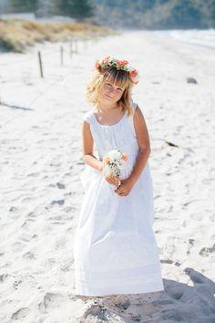 3b5bd1a1b flower girl - beach wedding Flower Girl Beach Wedding, Beach Gowns, Flower  Girl Gifts