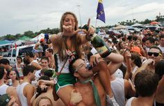 A party at University of Florida.