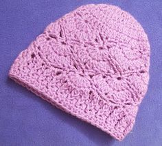 Cats-Rockin-Crochet Free Crochet Patterns: My Baby Hat Patterns