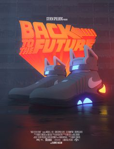 Future Wallpaper, Nike Wallpaper, The Future Movie, Back To The Future, Nike Air Mag, Nike Poster, Sneakers Wallpaper, Neon Led, Star Wars