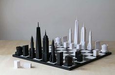 Skyline Chess – De jolis jeux d'échecs inspirés de Londres et New York   Ufunk.net