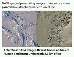 Na Antarktidě nalezeny ruiny starověkého města. USA údajně zakazují zveřejnit…