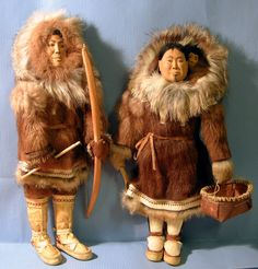 Ethel Washington Eskimo dolls