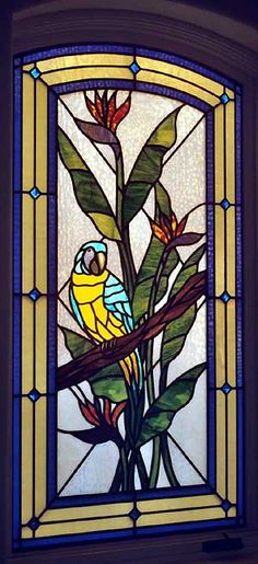 135 Best Stained Glass Parrots Images In 2019 Parrots