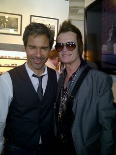 Eric McCormack and Glenn Hughes JV Hollywood Event