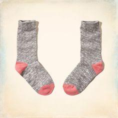 Girls Cozy Camp Socks | Girls Footwear & Accessories | HollisterCo.com
